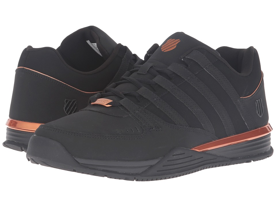 K-Swiss - Baxter (Black/Copper) Men's Shoes