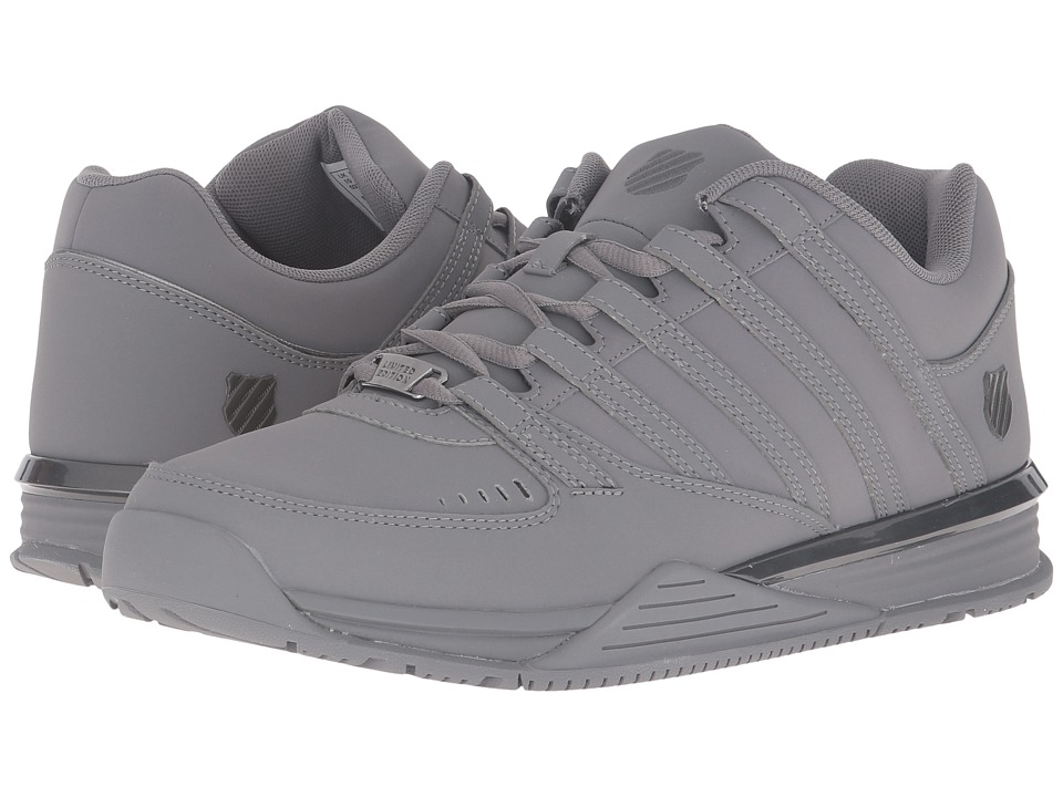 K-Swiss - Baxter (Charcoal/Gunmetal) Men's Shoes
