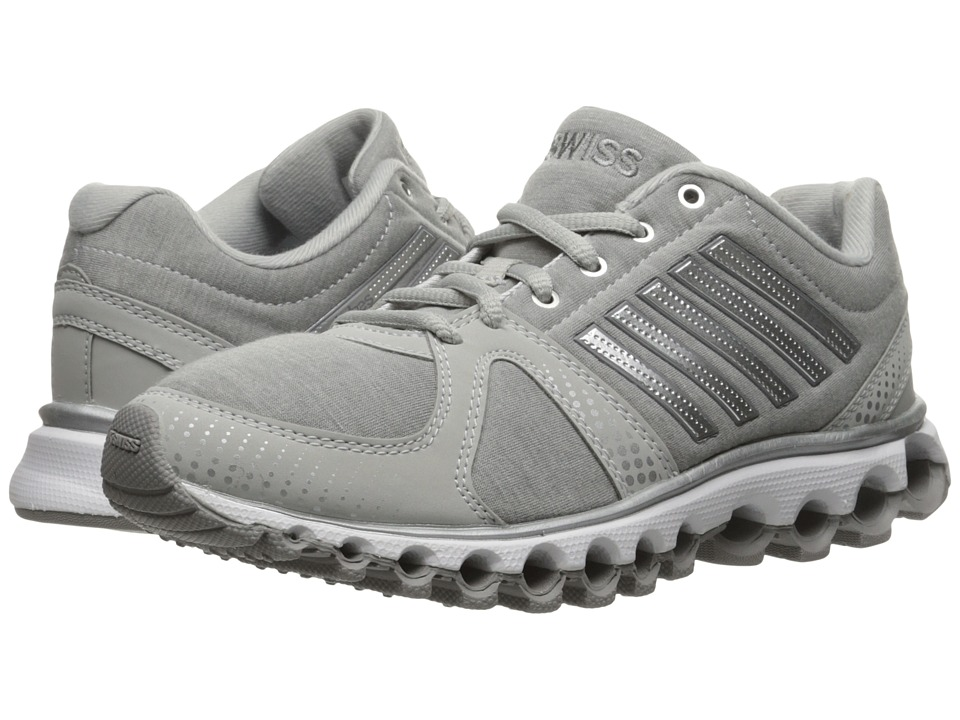 K-Swiss - X-160 Heather CMF (Gull Gray/Silver) Women's Lace up casual Shoes