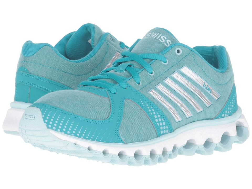 K-Swiss - X-160 Heather CMF (Lake Blue/Clearwater) Women's Lace up casual Shoes