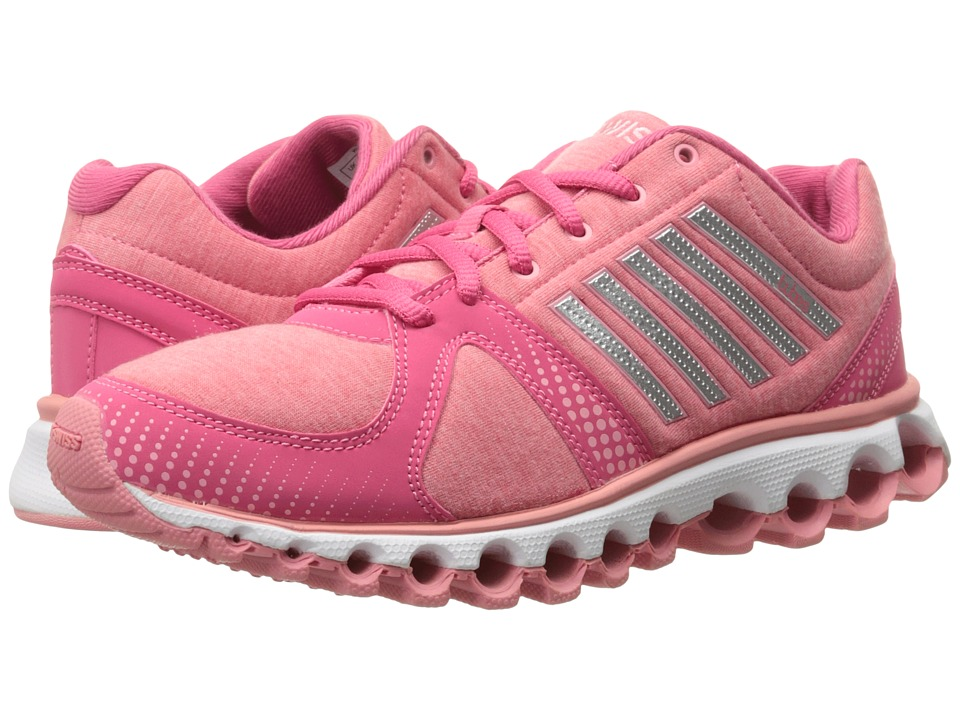 K-Swiss - X-160 Heather CMF (Honeysuckle/Geranium Pink) Women's Lace up casual Shoes