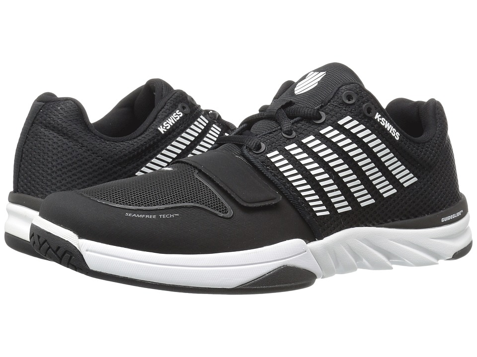 K-Swiss - X Court (Black/White) Men's Tennis Shoes