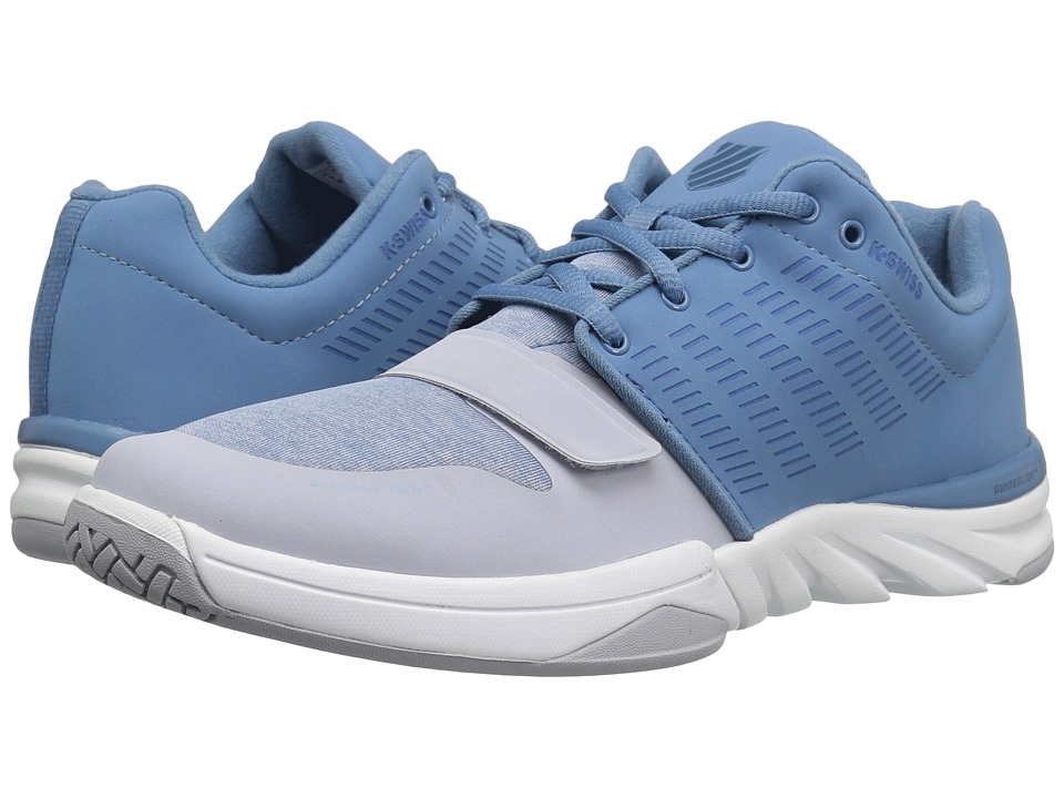 K-Swiss - X Court Athleisure (Blue Haven/Gray Dawn) Men's Tennis Shoes