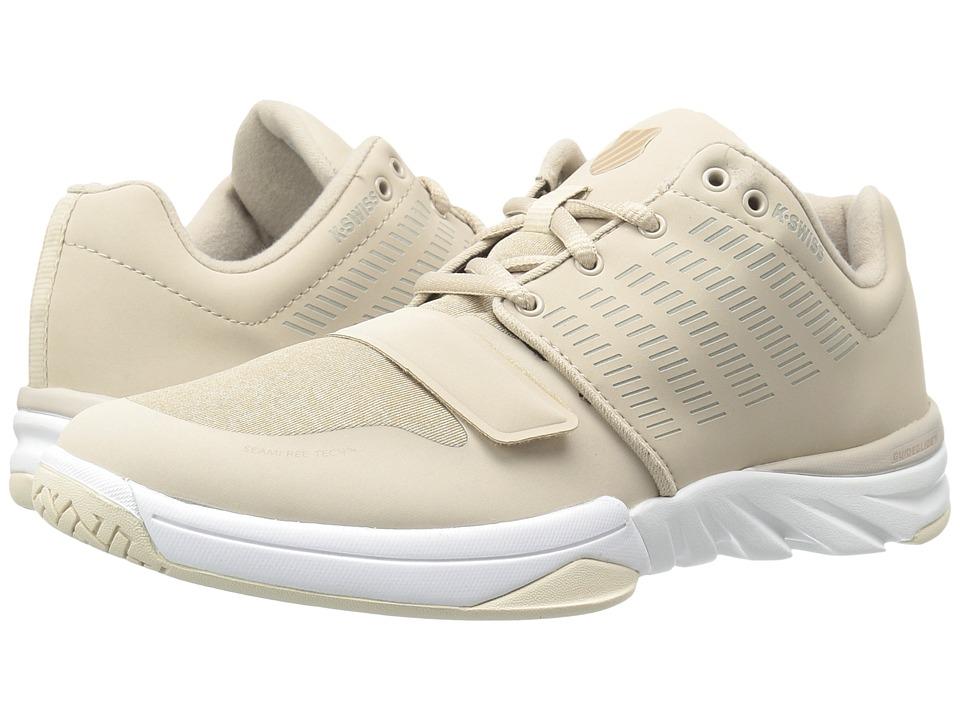 K-Swiss - X Court Athleisure (Doeskin/Warm Taupe) Women's Tennis Shoes