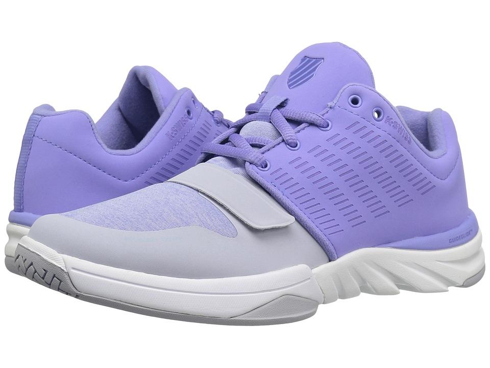 K-Swiss - X Court Athleisure (Deep Periwinkle/Gray Dawn) Women's Tennis Shoes