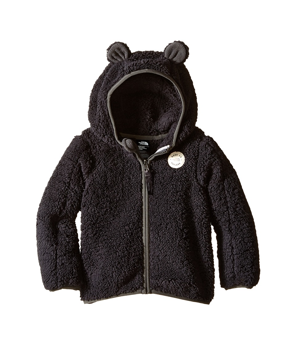 The North Face Kids - Plushee Bear Hoodie (Infant) (TNF Black) Kid's Coat