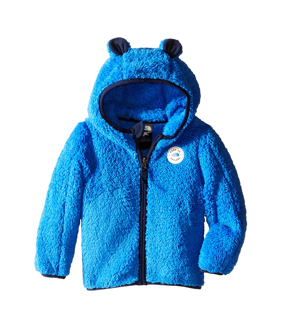 The North Face Kids - Plushee Bear Hoodie (Infant) (Jake Blue) Kid's Coat
