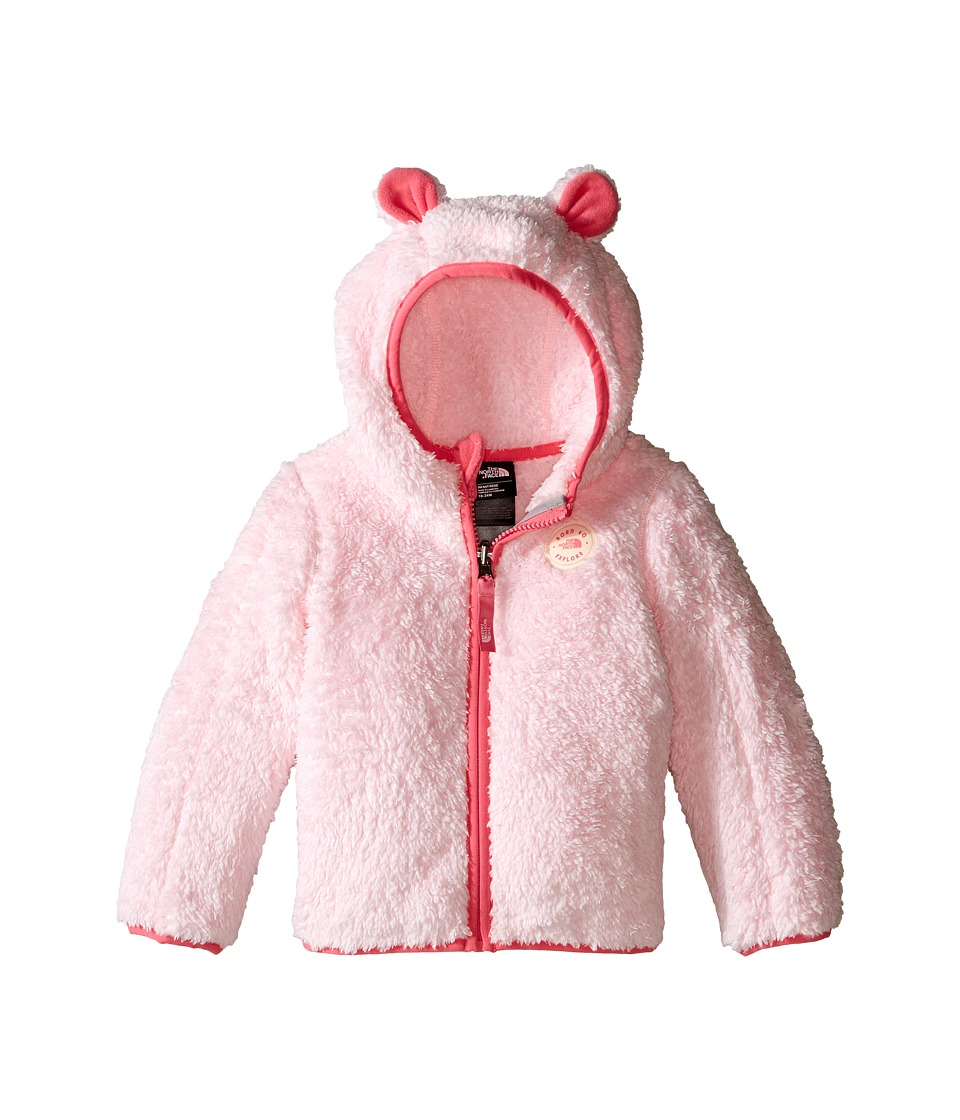 The North Face Kids - Plushee Bear Hoodie (Infant) (Coy Pink) Kid's Coat