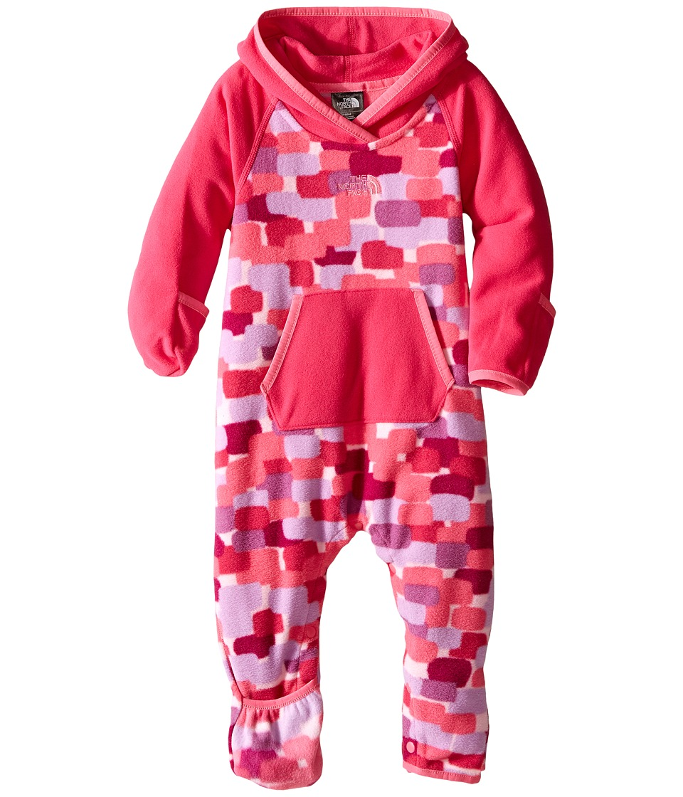 The North Face Kids - Glacier One-Piece (Infant) (Cabaret Pink) Kid's Jumpsuit & Rompers One Piece