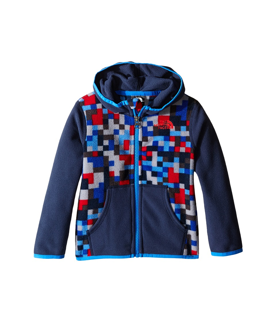 The North Face Kids - Glacier Full Zip Hoodie (Infant) (Jake Blue) Girl's Sweatshirt