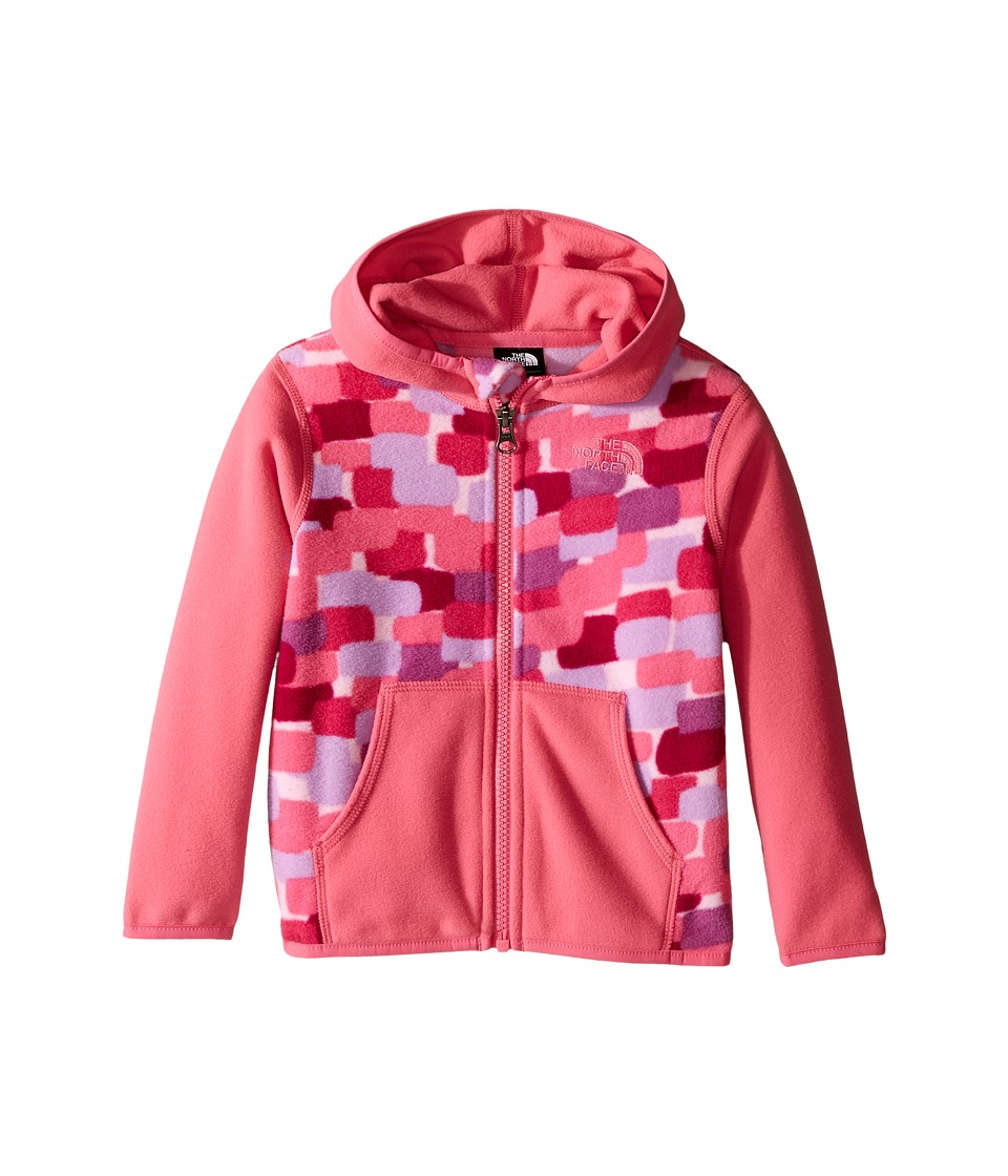 The North Face Kids - Glacier Full Zip Hoodie (Infant) (Cabaret Pink) Girl's Sweatshirt