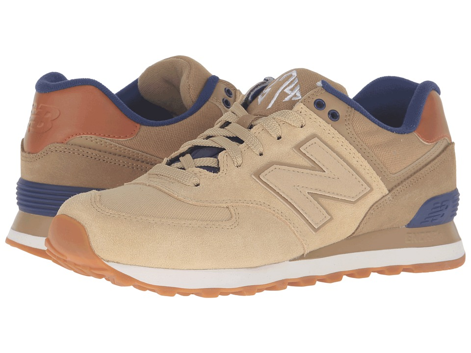 New Balance Classics - ML574 - New England (Linseed/Dust) Men's Running Shoes