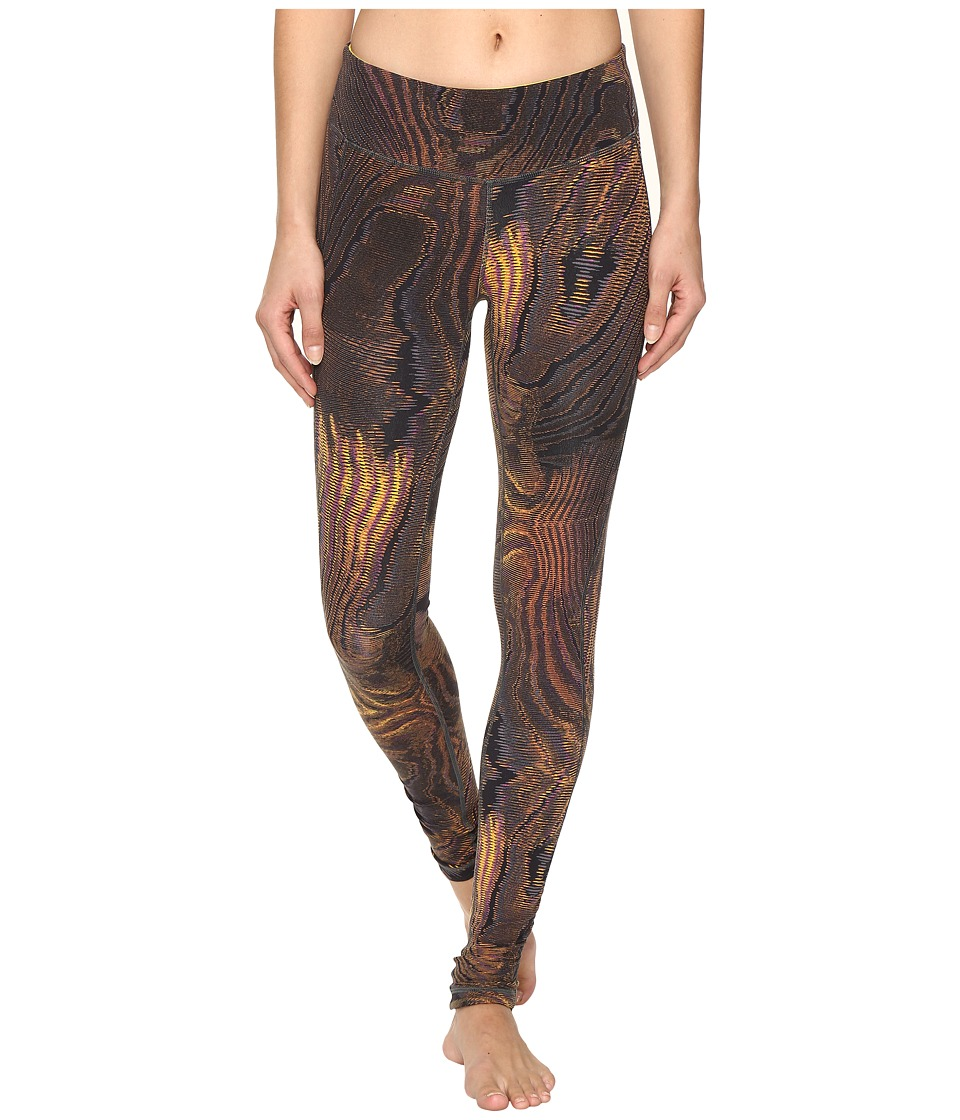 New Balance - Premium Performance Tight Print Pants (Digital Moire) Women's Casual Pants