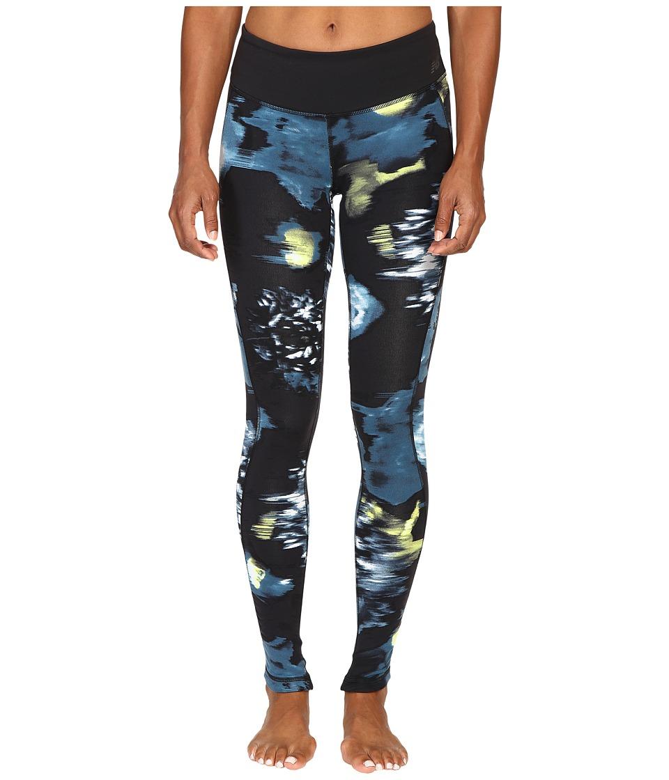 New Balance - Premium Performance Tight Print Pants (Urban Floral Print) Women's Casual Pants