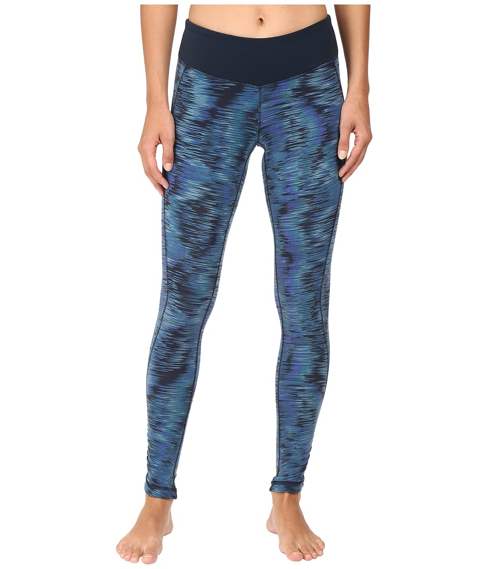 New Balance - Premium Performance Tight Print Pants (Galaxy Tech Print) Women's Casual Pants