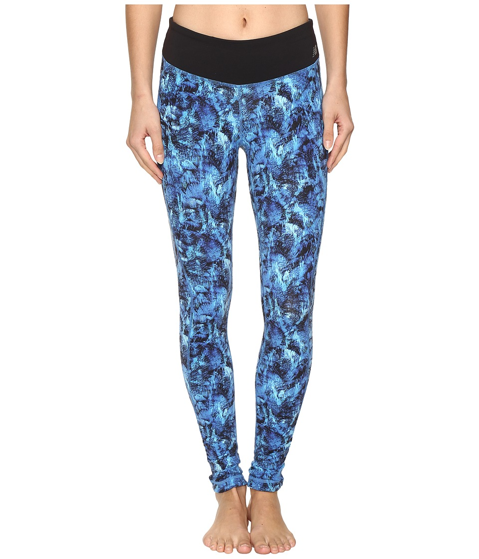 New Balance - Premium Performance Tight Print Pants (Majestic Feather Camo) Women's Casual Pants