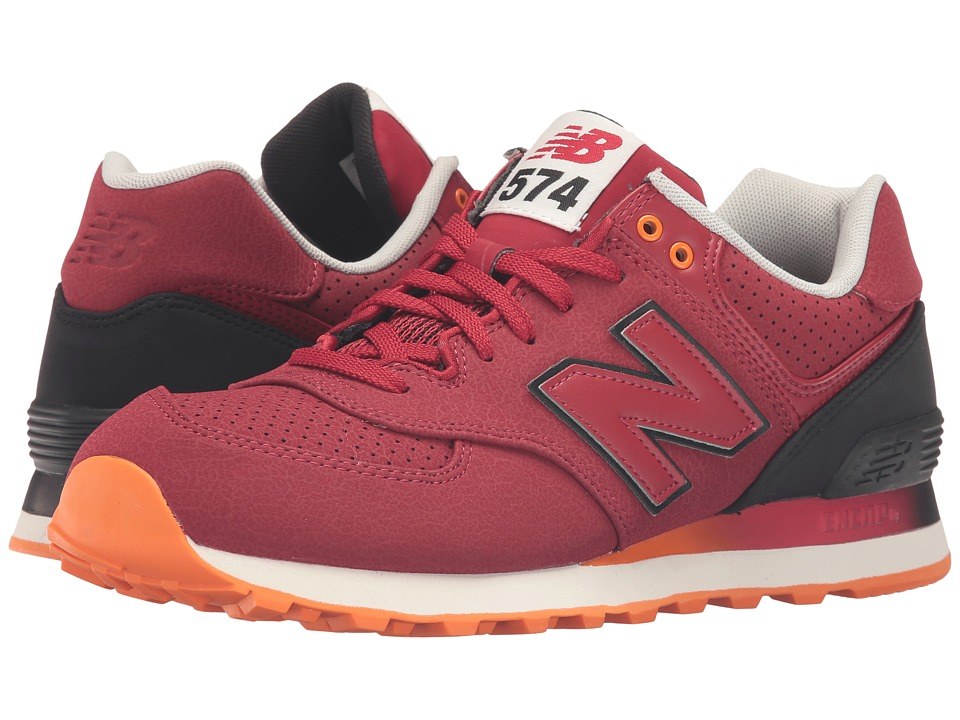 New Balance Classics - ML574Bv1 - Radiant (Red/Black) Men's Running Shoes