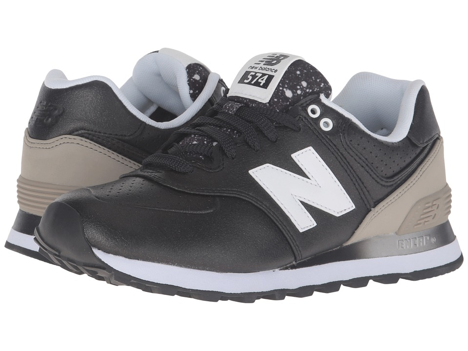 New Balance Classics - WL574Bv1 - Radiant (Black/Husk) Women's Running Shoes