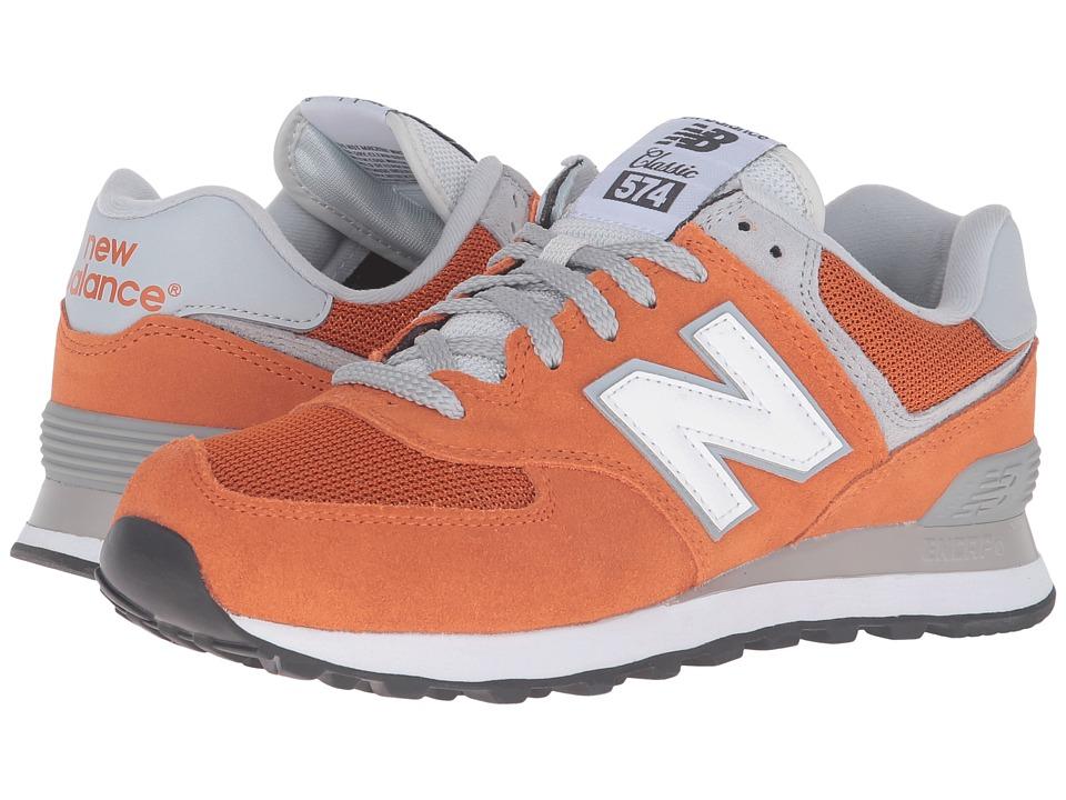 New Balance - ML574 (Spice Market/White) Men's Shoes