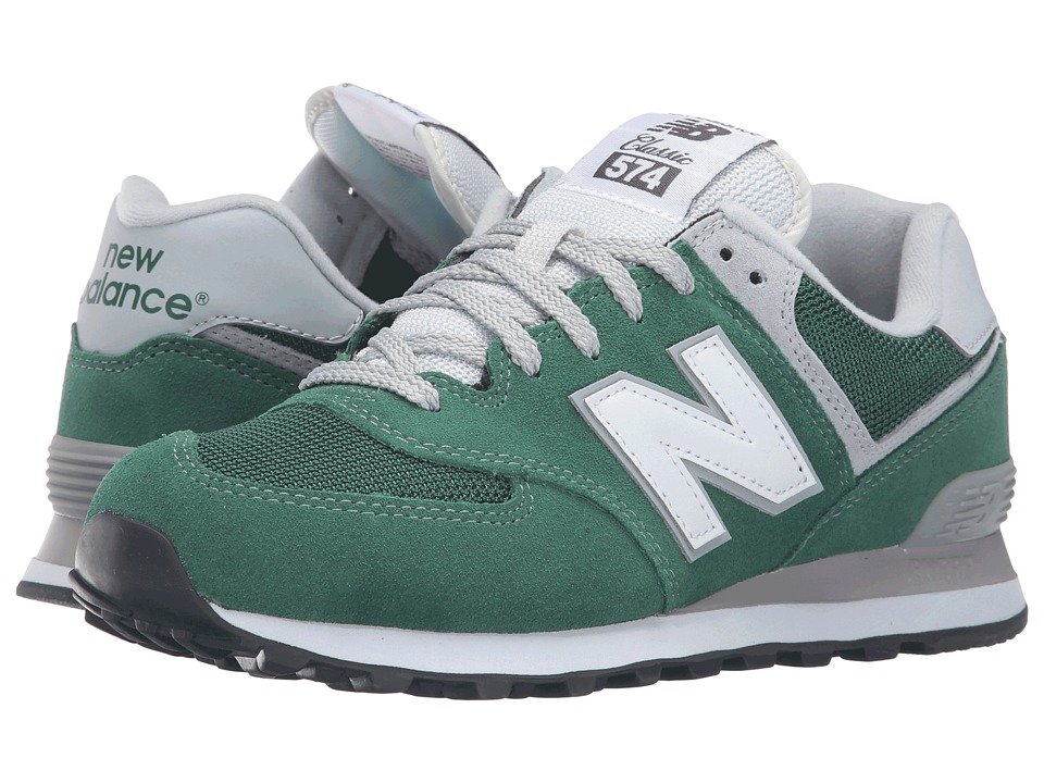 New Balance - ML574 (Hunter Green/White) Men's Shoes