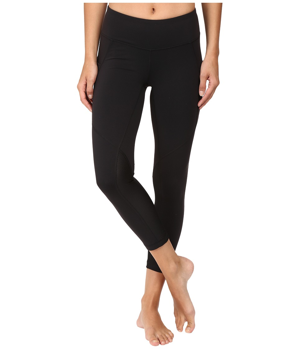 New Balance - Fashion Crop Pants (Black) Women's Casual Pants