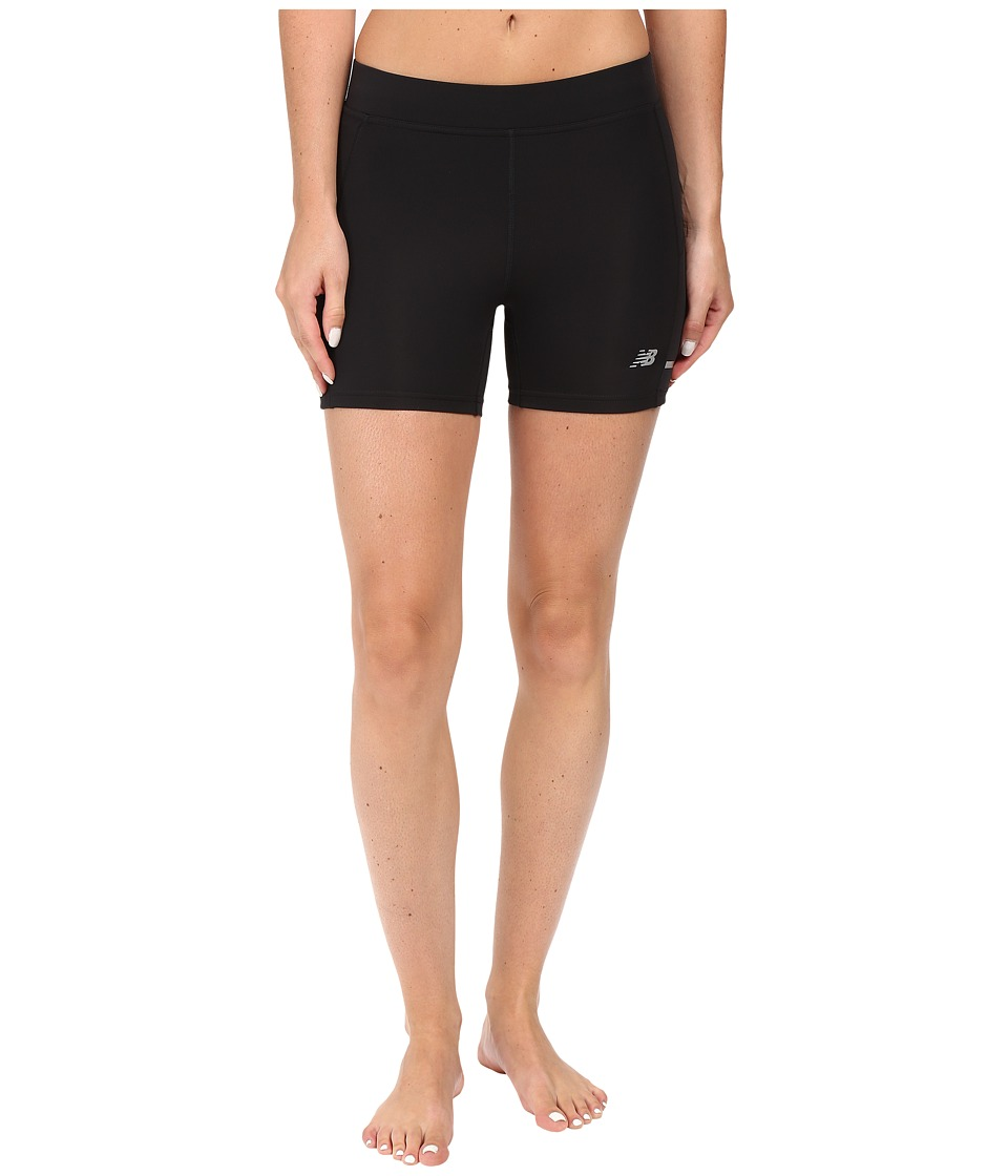 New Balance - Accelerate Fitted Shorts (Black) Women's Shorts