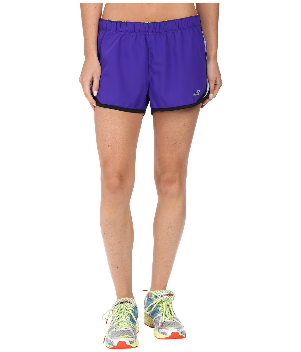 New Balance - Accelerate 2.5 Short (Spectral/Aquarius) Women's Shorts