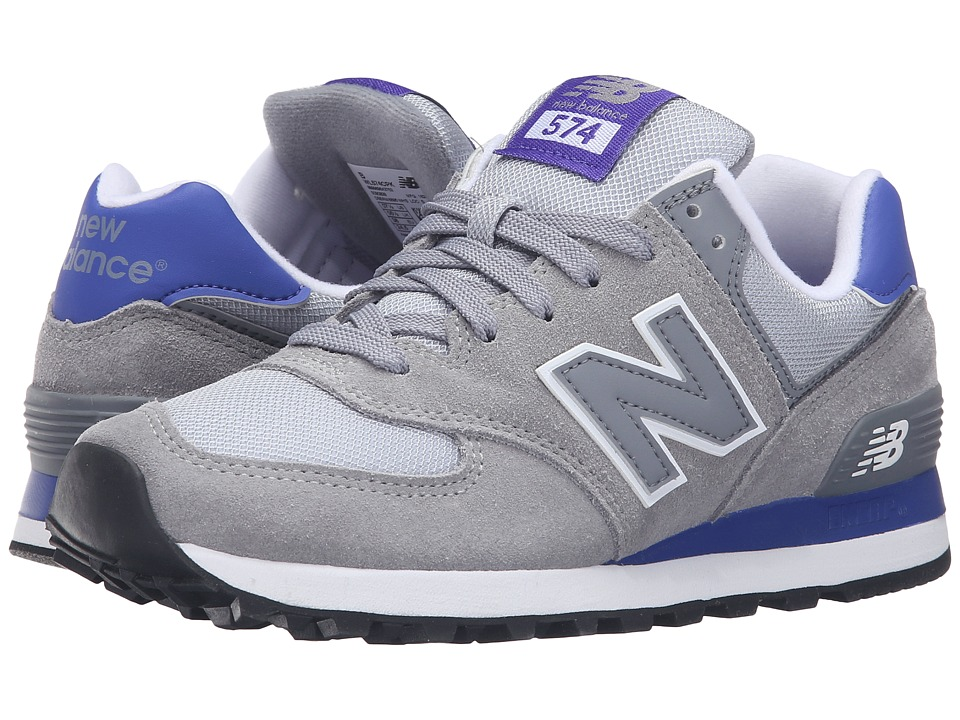 New Balance Classics - WL574 - Core Plus Collection (Steel/Spectral) Women's Classic Shoes