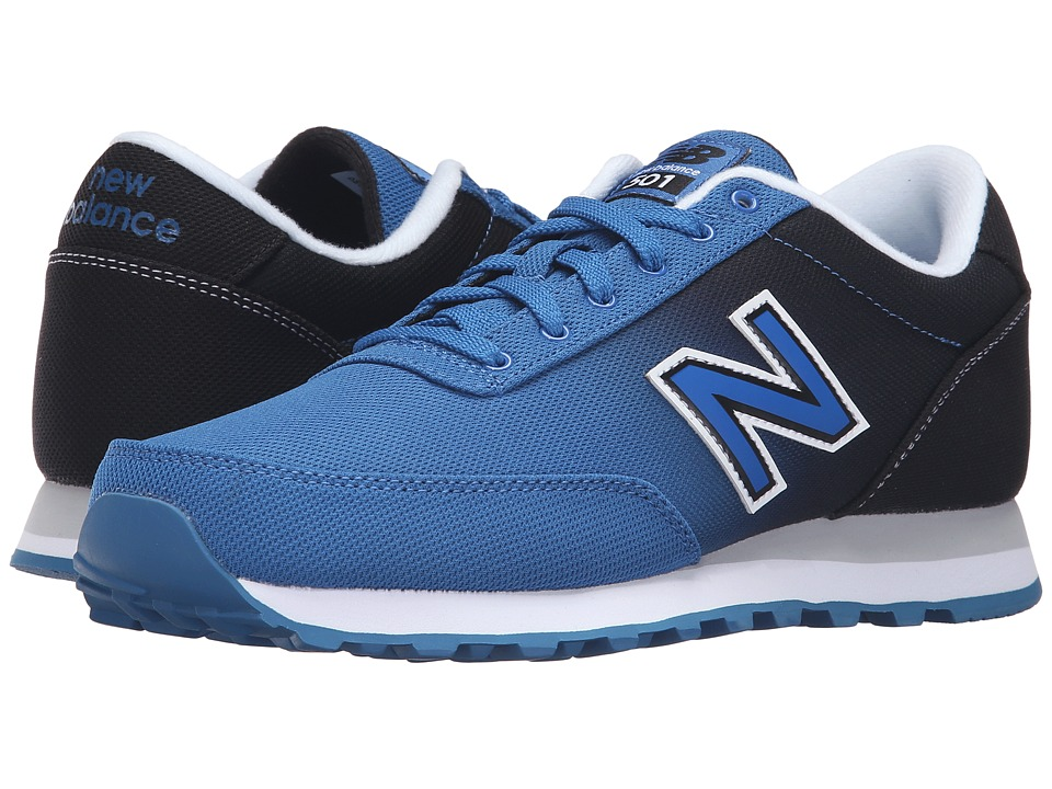 New Balance - ML501 (Blue/Black) Men's Classic Shoes