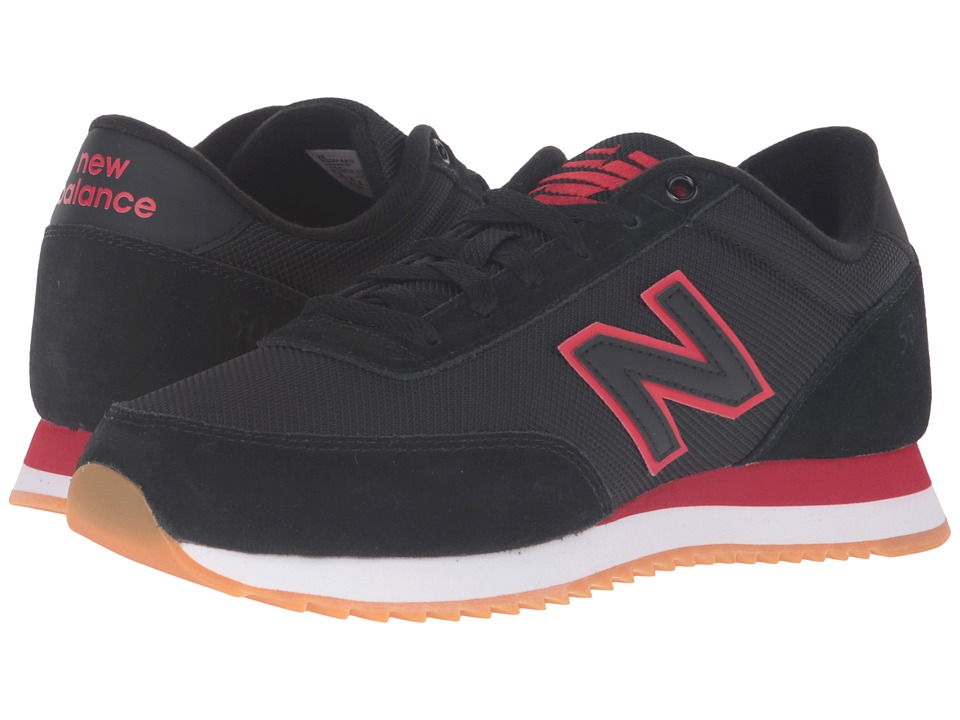 New Balance - MZ501v1 (Black/Crimson) Men's Classic Shoes