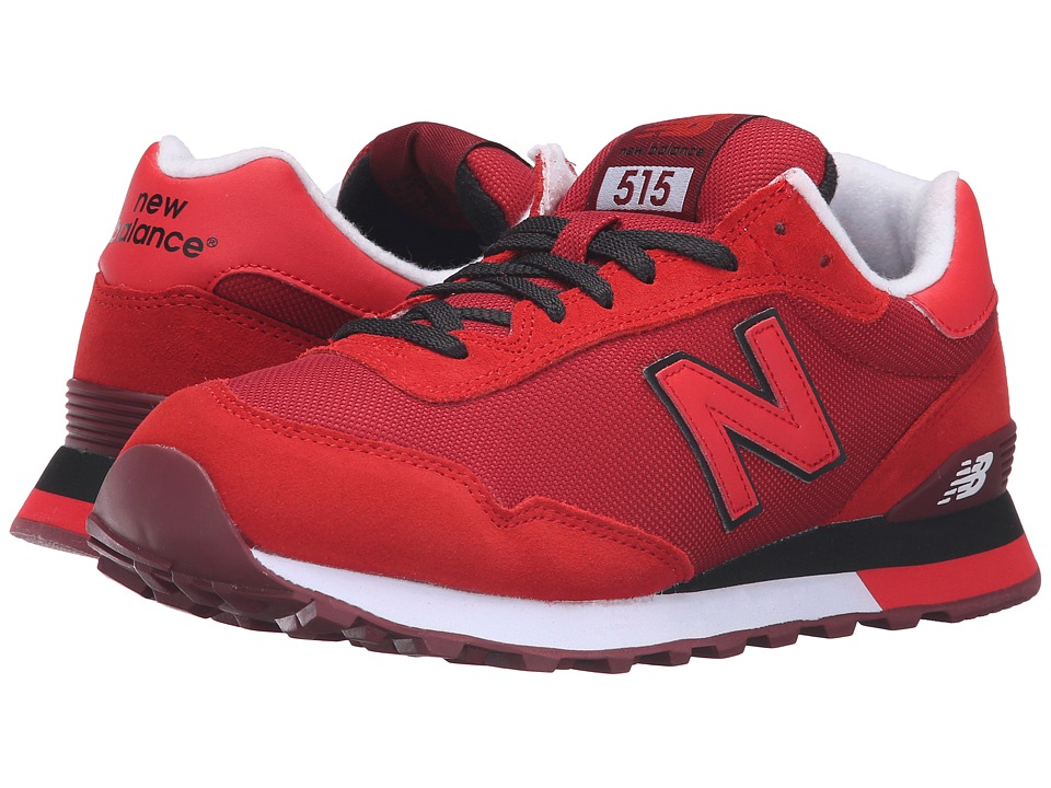 New Balance Classics - ML515 (Red/Black) Men's Classic Shoes