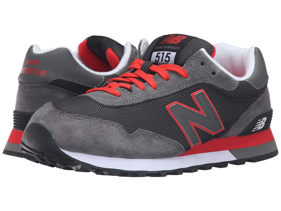 New Balance Classics - ML515 (Castlerock/Red) Men's Classic Shoes