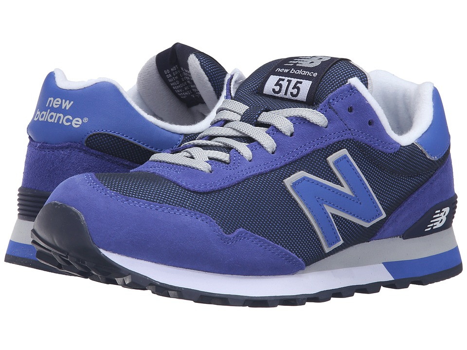 New Balance Classics - ML515 (Blue) Men's Classic Shoes