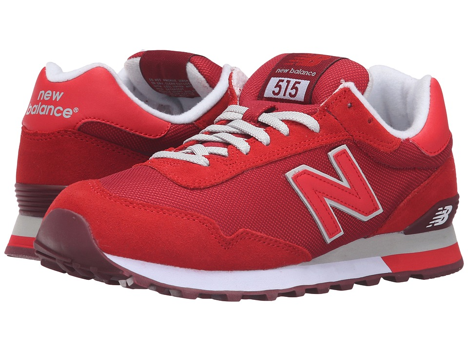 New Balance Classics - WL515 (Red/Microchip) Women's Classic Shoes