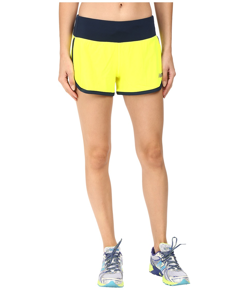 New Balance - Impact 3 Shorts (Firefly/Galaxy) Women's Shorts