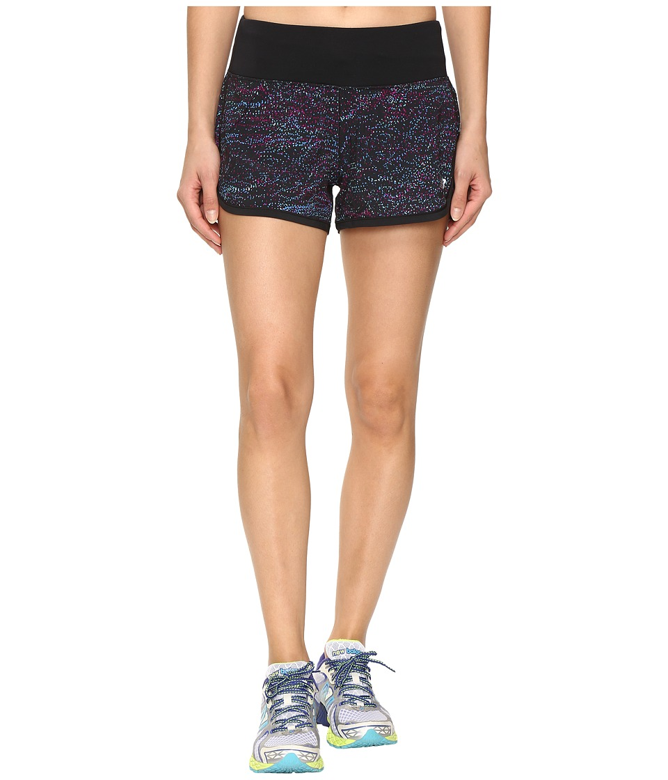 New Balance - Impact 3 Shorts (Multi Castaway Print/Black) Women's Shorts