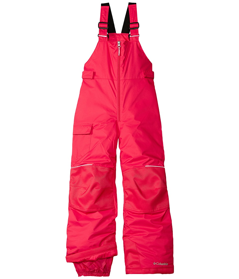 Columbia Kids - Adventure Ride Bib (Little Kids/Big Kids) (Punch Pink) Girl's Snow Bibs One Piece