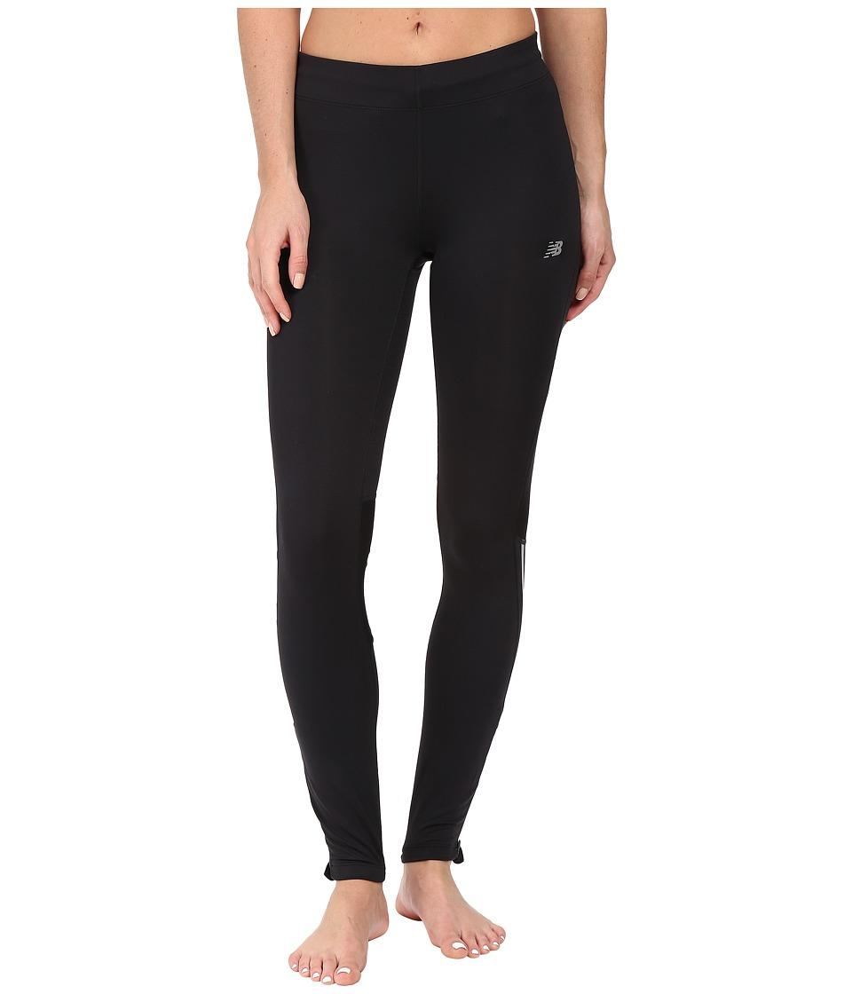 New Balance - Impact Tights (Black) Women's Casual Pants