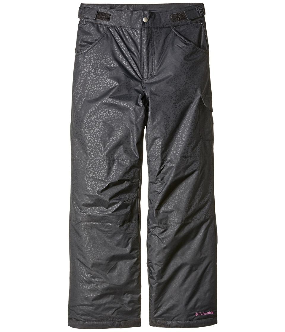 Columbia Kids - Starchaser Peak II Pants (Little Kids/Big Kids) (Black Emboss/Bright Plum) Girl's Clothing