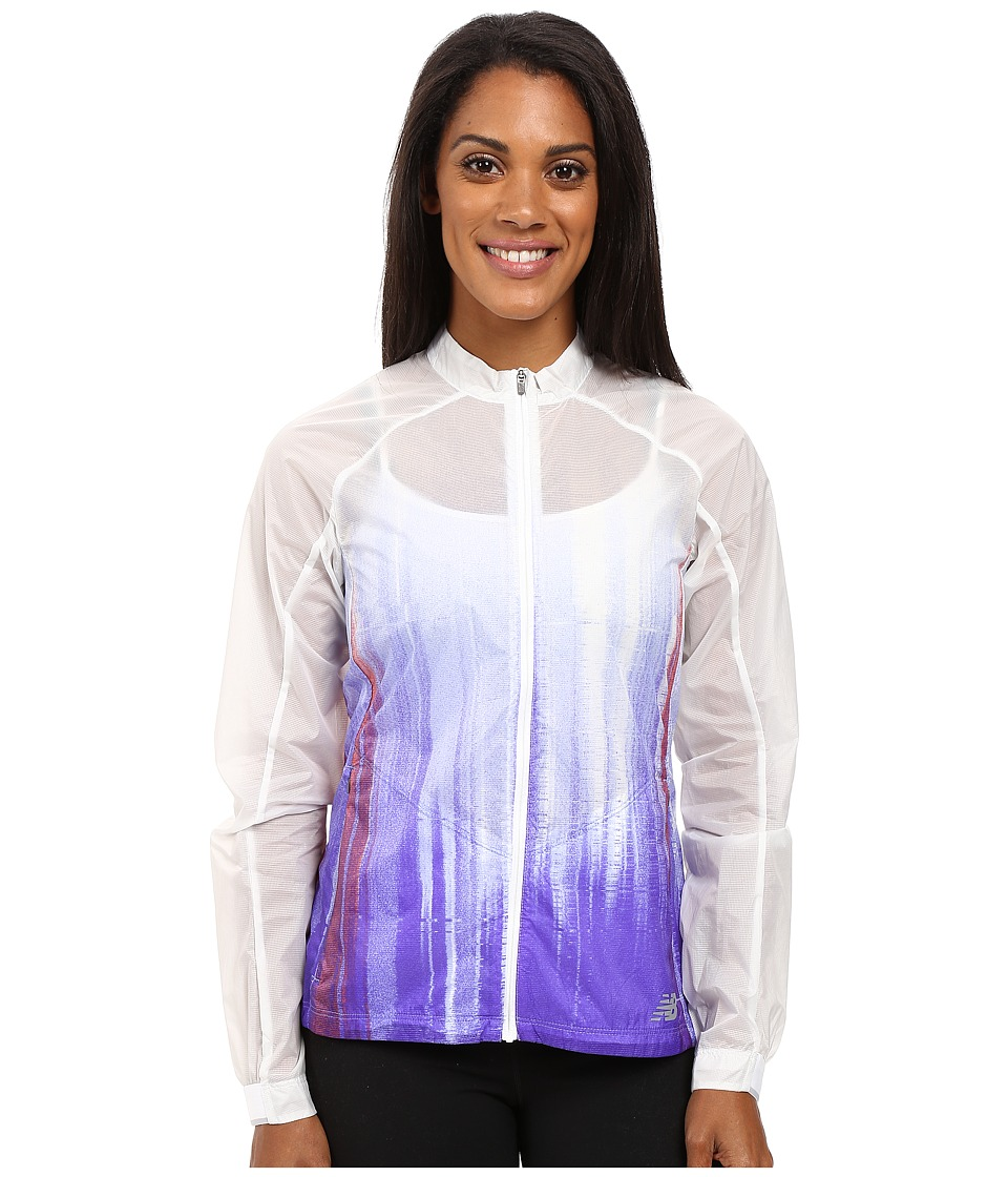New Balance - First Jacket (Spectral Print) Women's Coat
