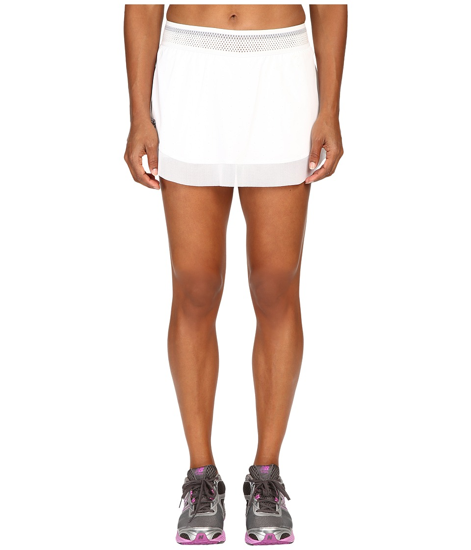 New Balance - 40 Degree Skorts (White) Women's Skort