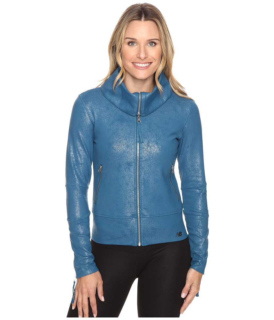 New Balance - Shadow Jacket (Castaway) Women's Coat