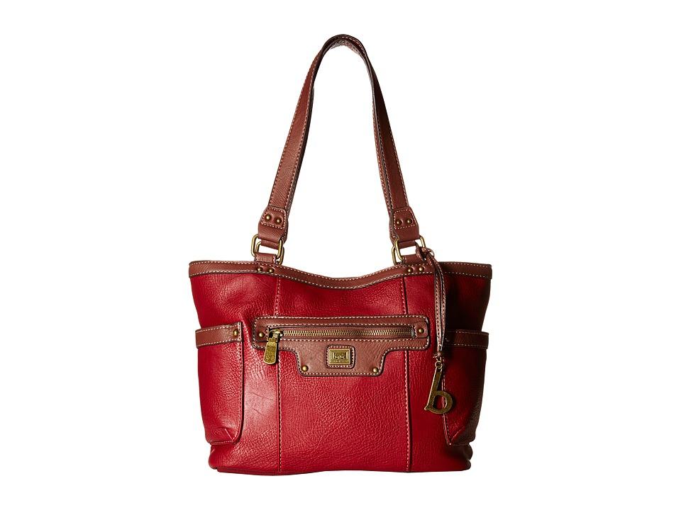 b.o.c. - Lancaster Tote (Burgundy) Tote Handbags
