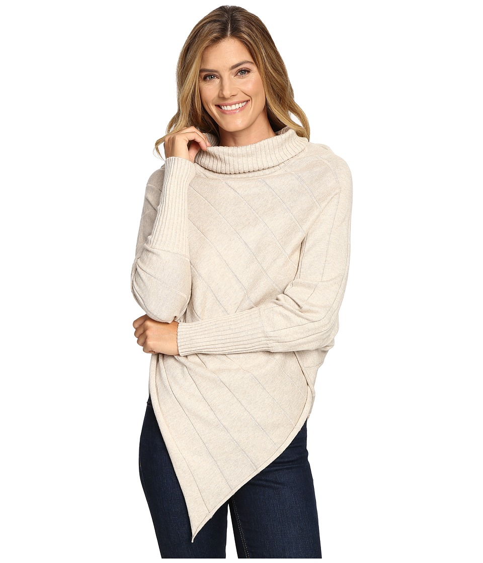 Aventura Clothing - Mariska Poncho (Heathered Oatmeal) Women's Coat