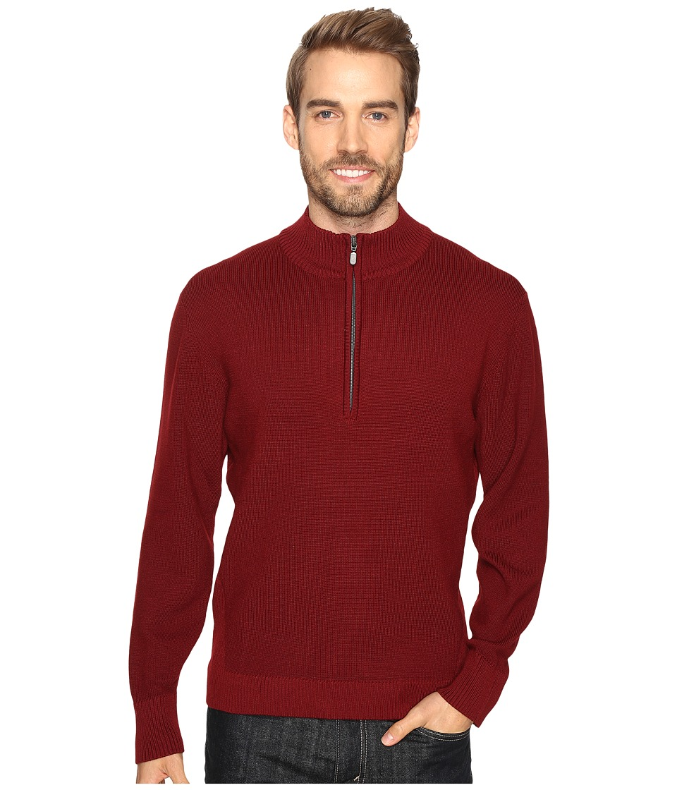 ExOfficio Teplo 1/4 Zip (Claret) Men