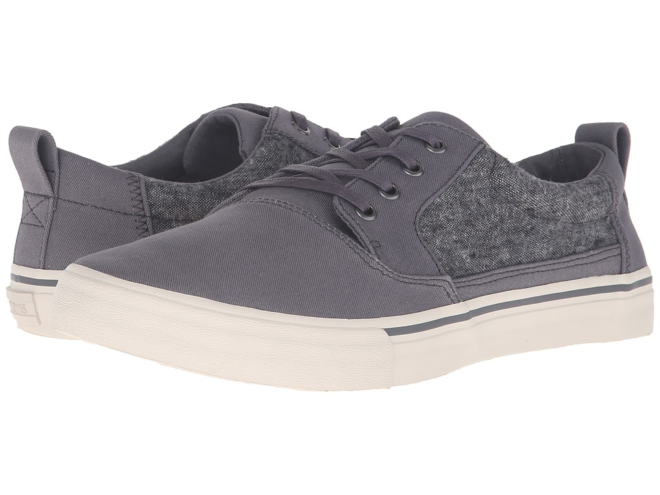TOMS Valdez (Castlerock Grey Cotton Twill/Slub Yarn) Men