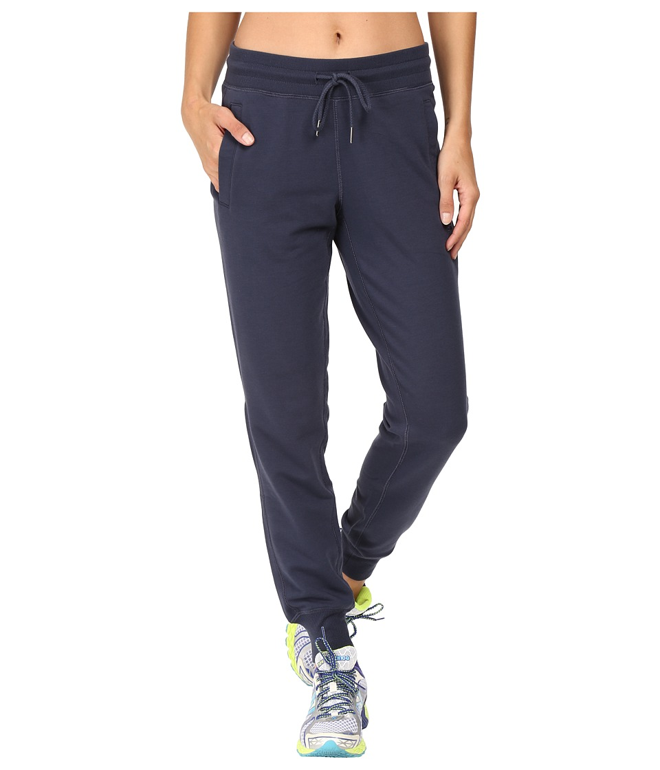 New Balance - Classic Tailored Sweatpants (Navy) Women's Casual Pants