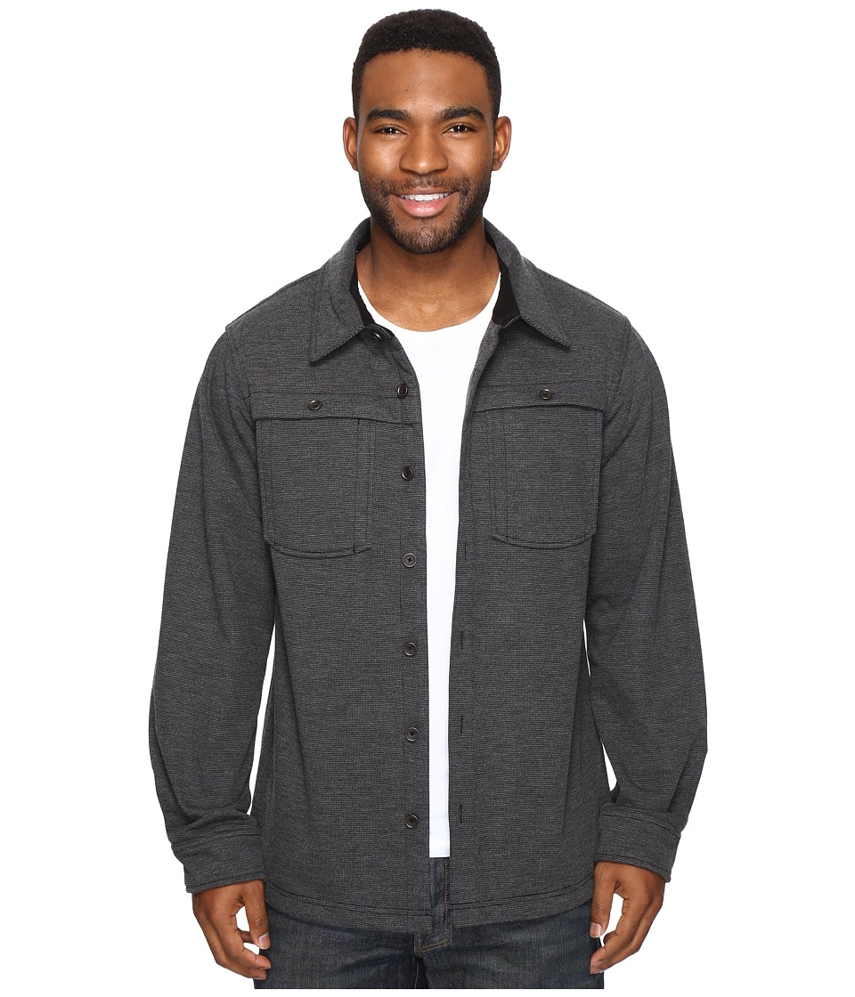 ExOfficio - Triberg Shirt Jacket (Black) Men's Coat