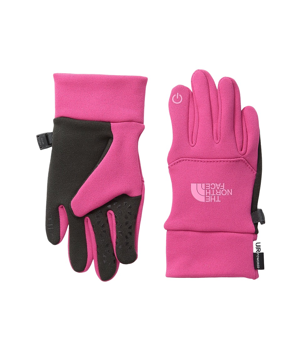 The North Face Kids - Youth Etip Glove (Big Kids) (Cabaret Pink/Cha Cha Pink (Prior Season)) Extreme Cold Weather Gloves