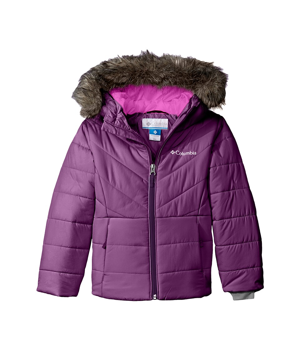 Columbia Kids - Katelyn Crest Jacket (Little Kids/Big Kids) (Iris Glow/Bright Plum) Girl's Coat